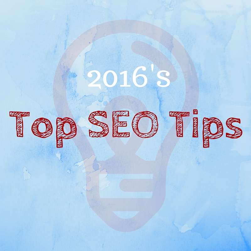 6 Top SEO Tips for 2016